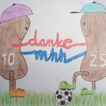Müller und Robben: die beiden neuen Nieren (Copyright: Katharina Lücke)