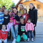 Jasmin Wagner mit Ederhof-Kindern